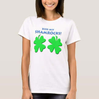 T-shirt Embrassez mes shamrocks