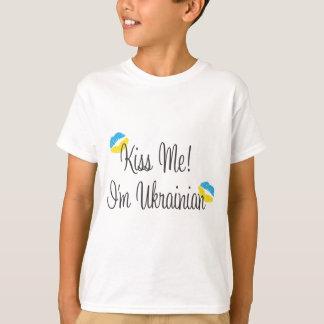 T-shirt Embrassez-moi ! Je suis ukrainien