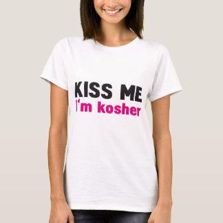T-shirt Embrassez-moi que je suis cacher