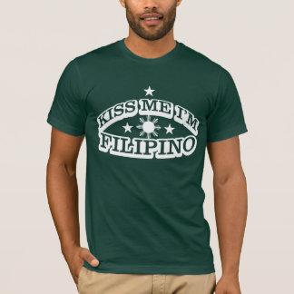 T-shirt Embrassez-moi que je suis philippin