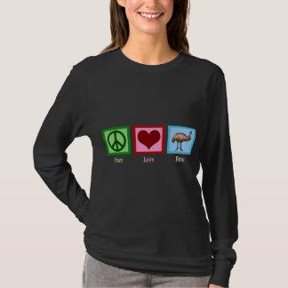 T-shirt Émeu d'amour de paix