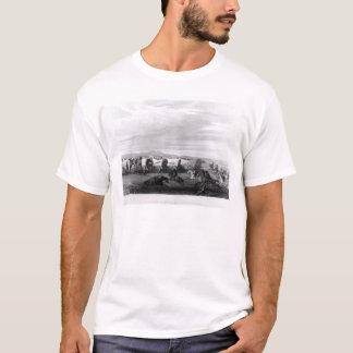 T-shirt Émigrants attaqués par les Comanches