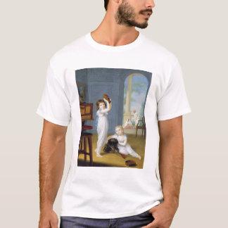 T-shirt Emily et maçon de George, c.1794-95 (huile sur la