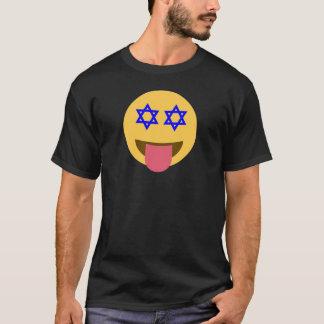 T-shirt emoji de hanoukka de chanukkah