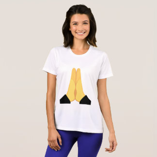 T-shirt Emoji de prière