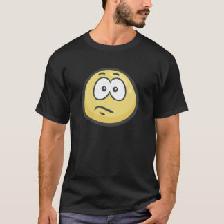 T-shirt Emoji : Visage confus