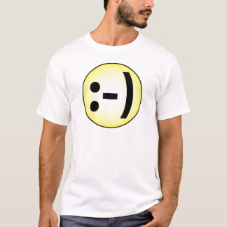 T-shirt Émoticône souriante