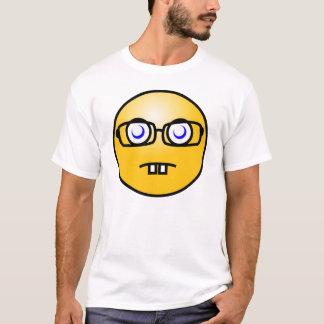 T-shirt Émoticône souriante de geek