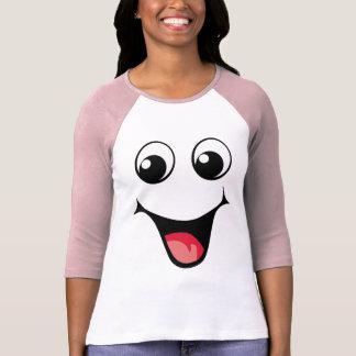 T-shirt Émoticône souriante heureuse