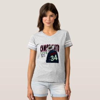 T-shirt Émotion de course de camion de voiture de tigre de