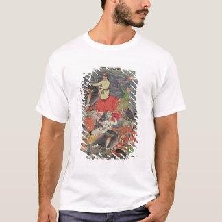 T-shirt Empereur Akbar traversant la rivière le Gange