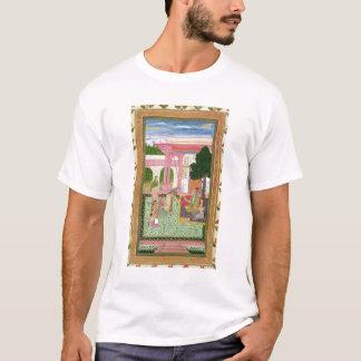T-shirt Empereur Jahangir (1569-1627) avec son époux et
