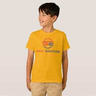 T-shirt Empire malade - pièce en t 4 (logo orange et gris)