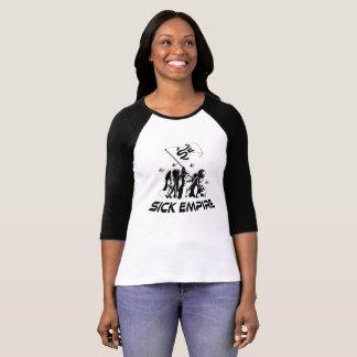 T-shirt Empire malade - pièce en t 7 de drapeau de destin