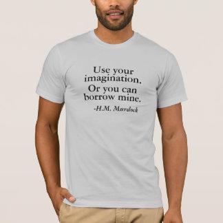 T-shirt Employez votre imagination