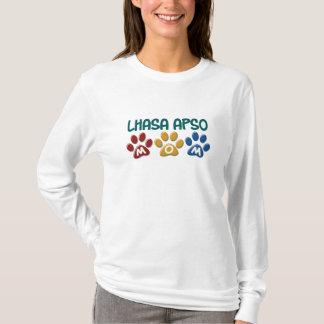 T-shirt Empreinte de patte 1 de maman de LHASA APSO