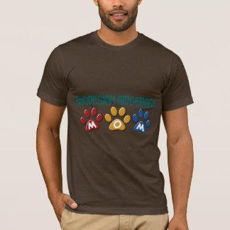 T-shirt Empreinte de patte 1 de maman de RHODESIAN