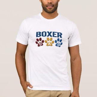 T-shirt Empreinte de patte 1 de PAPA de BOXEUR