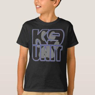 T-shirt Empreinte de patte d'unité de la police K9