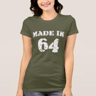 T-shirt En 1964 chemise faite