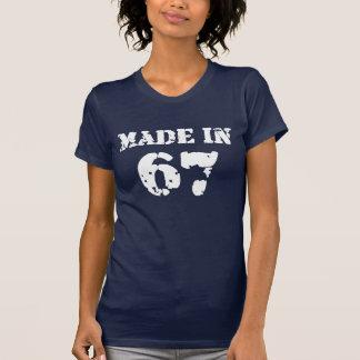 T-shirt En 1967 chemise faite