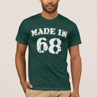 T-shirt En 1968 chemise faite
