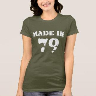 T-shirt En 1979 chemise faite
