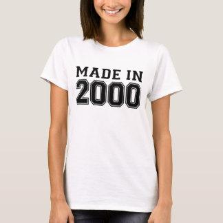 T-SHIRT EN 2000 .PNG FAIT