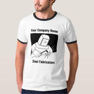 T-shirt en acier de bande dessinée de fabrication