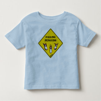 T-shirt en baisse de pingouins