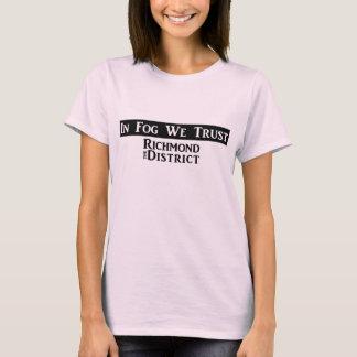 """T-shirt """"En brouillard nous faisons confiance"""" - au"""