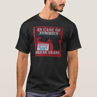 T-shirt En cas de zombis