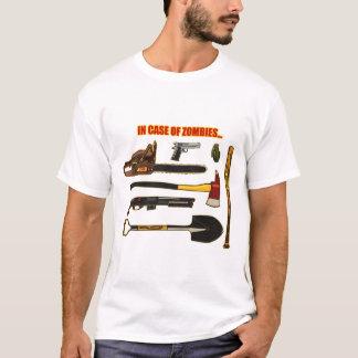 T-shirt En cas de zombis…