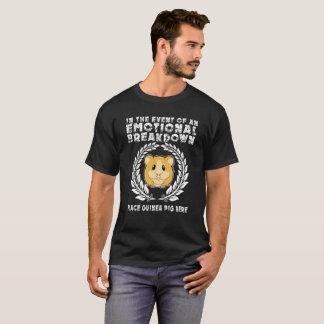 T-shirt En cas d'un cobaye d'endroit de panne