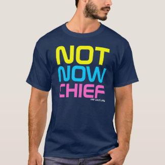 T-shirt en chef de Guido de couture de coup sec et