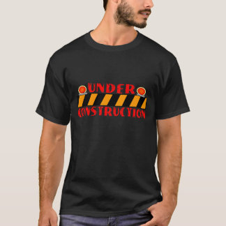 T-shirt En construction