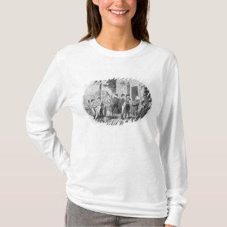 T-shirt En dehors de la vieille taverne de casquettes