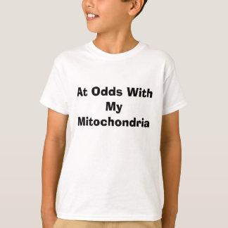 T-shirt En désaccord avec mes mitochondries