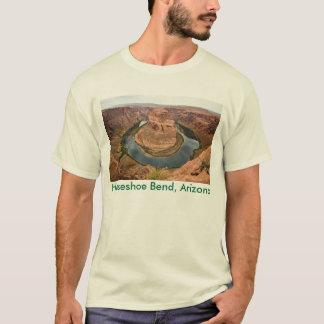 T-shirt en fer à cheval de courbure