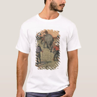 T-shirt En français Congo, l'éléphant s'est exercé au