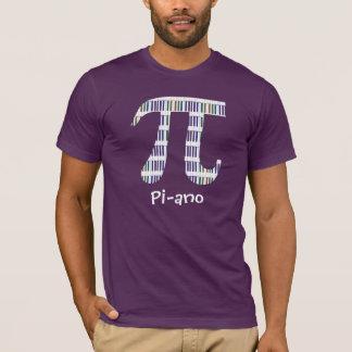 T-shirt En l'honneur du ~ de jour de pi ayez un piano (le