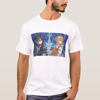 T-shirt en ligne d'art d'épée