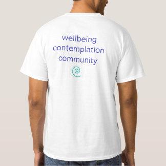 T-shirt en spirale de yoga du chemin des hommes de