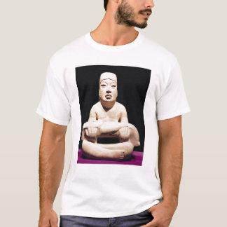 T-shirt En tailleur chiffre tenant un bébé, Olmec