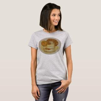 T-shirt Enchiladas du poussin des femmes avec les haricots