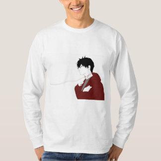 T-shirt Encolure ras du cou de garçon d'amant