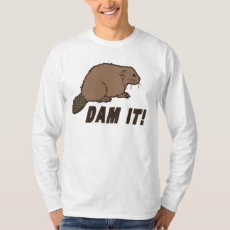 T-shirt Endiguez-le castor