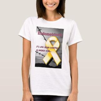 T-shirt Endo :  Il est comme être enveloppé en barbelé