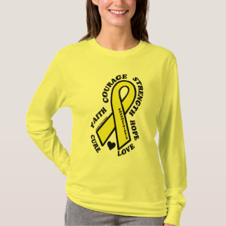 T-shirt Endométriose de traitement d'amour d'espoir…