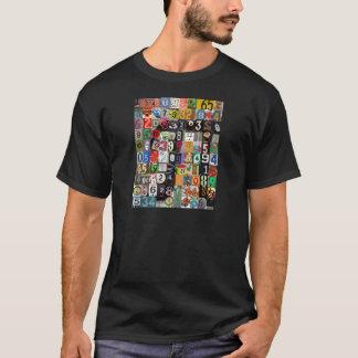 T-shirt Endroits de pi